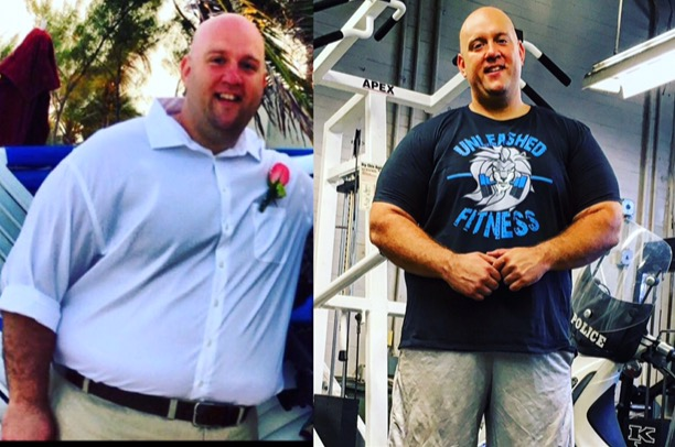 Ep 42: The Journey from Fat to Fit with @huge_fat_loser NYPD Ofc. Aaron Lohman